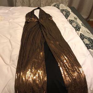 Formal sequin gown