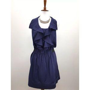 Rachel Rachel Roy Blouson Dress Purple ruffle