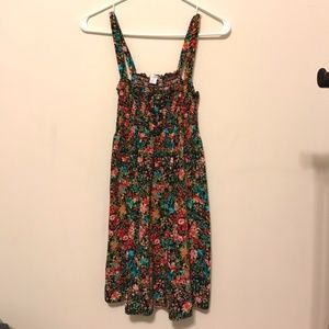 Floral Stretch Cotton Spaghetti Dress #7