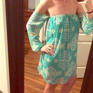 Patterned Boutique Dress
