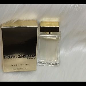 Authentic Dolce Gabbana the one, travel size