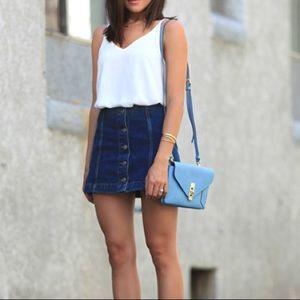 Top Shop Demin jean skirt
