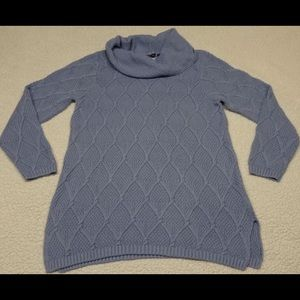 NWT JEANNE PIERRE Pullover Top Sweater Cowl Neck