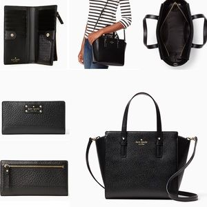 Kate spade ♠️ satchel and wallet