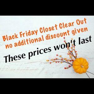 Black Friday Weekend Sale