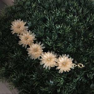 Jcrew flower bracelet