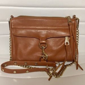 Almond Mini Mac crossbody