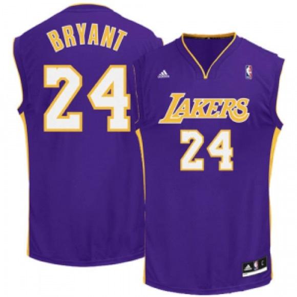 984b60196d6 adidas Other - Lakers Kobe Bryant Adidas Swingman NBA Jersey.