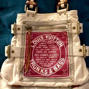 '05 LV Globe Shopper Cabas ;Rare-Lmtd Edition~ EUC