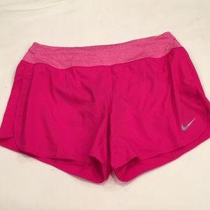 Pink Nike Running Shorts