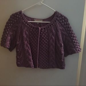 Urban Outfitters- Ecote Purple Cardigan Sweater