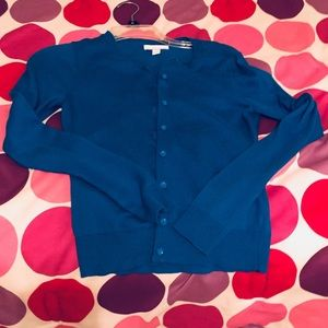 NWOT Blue New York & Company Cardigan