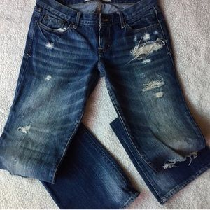 Abercrombie & Fitch vintage Distressed jeans