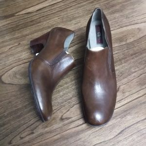 Born Hand Crafted Footwear Leather Slip-on Booties