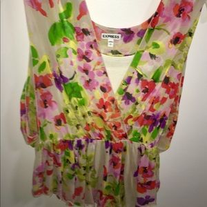 Bright Floral Express Top