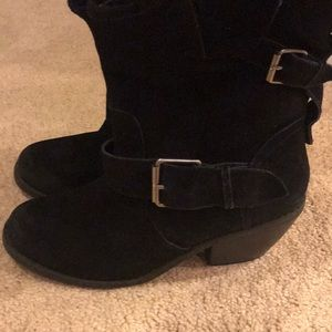 Suede Dolce Vita Heeled distressed Boots