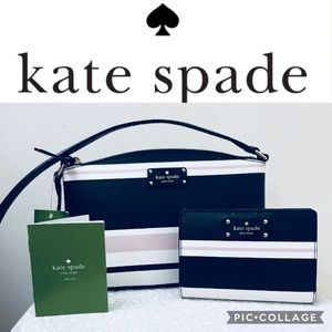 ♠️ kate spade Grove Street Crossbody Bag & Wallet