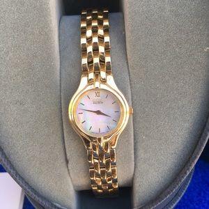 Beautiful Citizen Eco-drive Women's Gold Watch