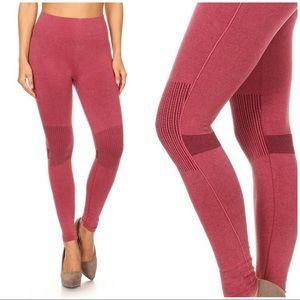 Pants - New Stretchy Distressed Denim Print