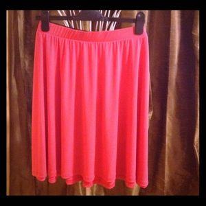 Tattoo Me Hot Pink Mini Skirt Polyester