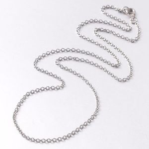 """Surgical Stainless Steel 20"""" Chain Necklace"""