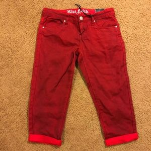 Red Shorts/Capris
