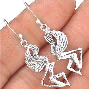 Jewelry - Fairy Jewelry 925 Sterling Silver Earrings