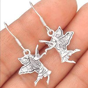 Jewelry - Fairy Faery Fae 925 Sterling Silver Earrings