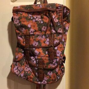Ecote floral backpack