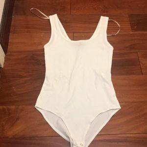 White forever 21 Bodysuit
