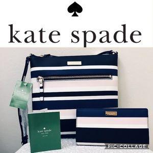 ♠️ kate spade Laurel Way Crossbody Bag & Wallet