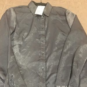 H&M full sleeve button down shirt size 10