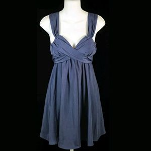 Johnny Martin Blue Sleeveless Dress Junior Size 5