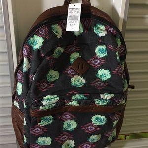 Zumiez Flower Styled Backpack