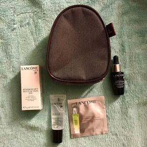 Lancome skincare mini set❤️with cute bag❤️