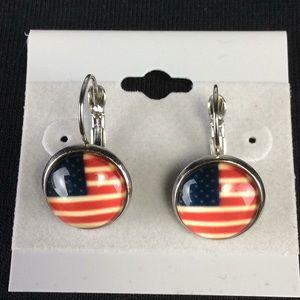 New American Flag 🇺🇸 Earrings