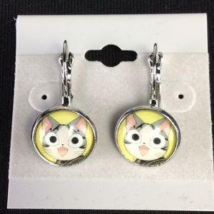 New Cute Cat Earrings