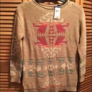 Lauren Ralph Lauren Tan Knit Sweater