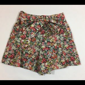 J. Crew Liberty Fabric Floral Shorts Size 4