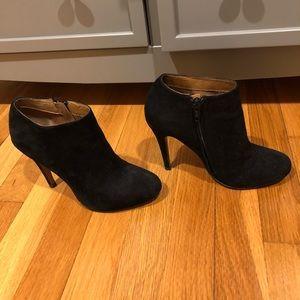 Aldo black suede heels 6.5