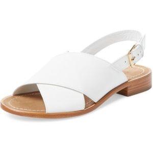 Kate Spade Bahama White Calf Sandal