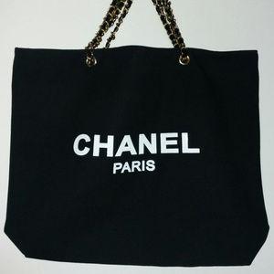 Chanel vip Gift bag canvas tote bag Shopper bag