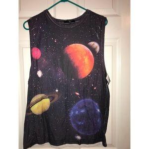 Space Galaxy Tank Top/Muscle Shirt ✨💫