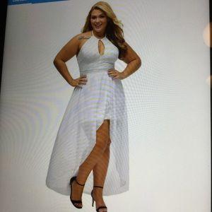 White dress size 24W