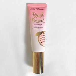 VANILLA Too Faced Peach Perfect Foundation