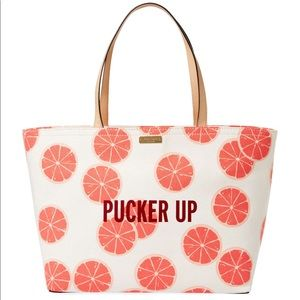NWT Flights Of Fancy Pucker Up Francis Tote
