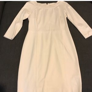 Beige/off white Banana Republic dress
