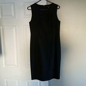 Banana Republic Black Sleeveless Dress 12