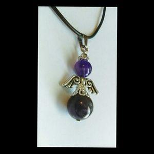 Jewelry - Amethyst Angel Necklace