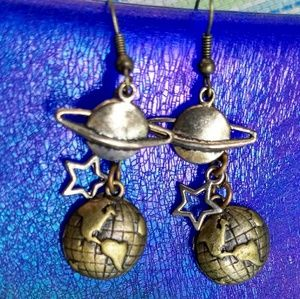 Jewelry - Fun**Outer Space- Celestial Solar System Earrings